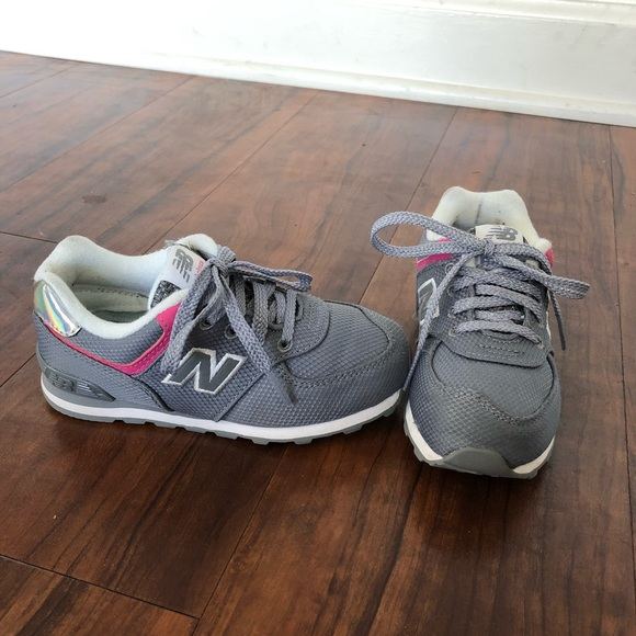 info for 471ce 856c6 Girls 574 Core New Balance Toddler show